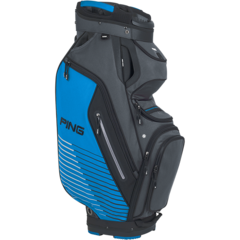 PING Pioneer Cart Bag - Grey Birdie Blue