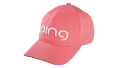PING Ladies Tour Performance Cap - Salmon/White