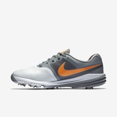Nike Lunar Command Golf Shoe - Grey/Orange