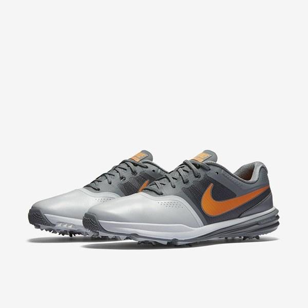 a3f5acb05c9b04 Nike lunar command men golf shoes pure platinum cool grey anthracite vivid  orange rr422111 sale nik ...