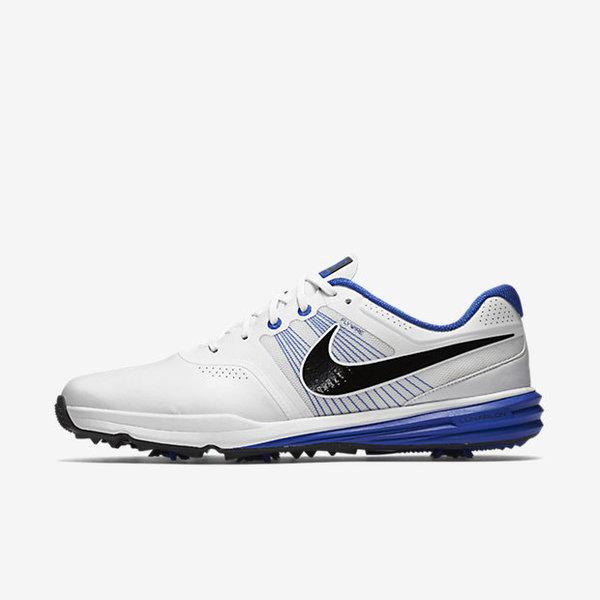 Nike Lunar Command Golf Shoe - White/Lyon Blue/Black