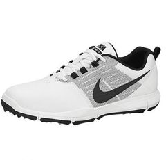 NIKE Explorer Golf Shoe - White/Black