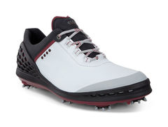 ECCO Men's Cage Cleat Golf Shoe - White