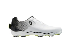 FootJoy D.N.A. Helix - #53319 - White/ Black with BOA