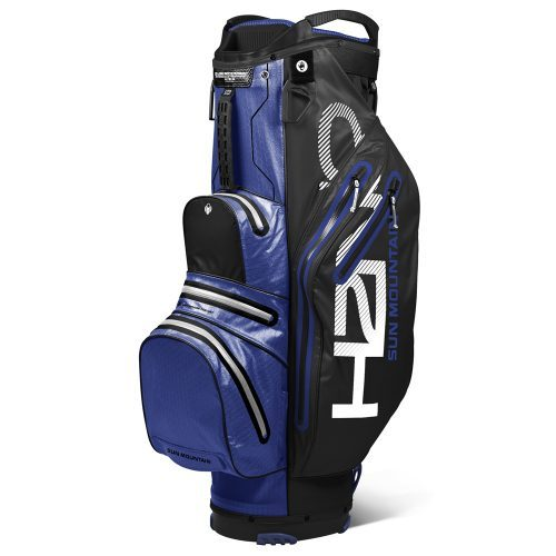 Sun mountain h2no 2019 lite cart bag black blue white 500x500