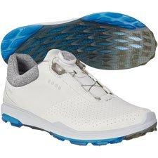 c58895002d01 ecco - Men s BIOM Hybrid 3 Boa Golf Shoe - White Blue - Prodrive