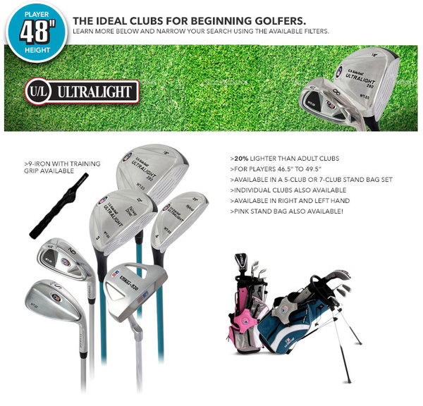 "U.S. Kids Golf - 48"" Package"
