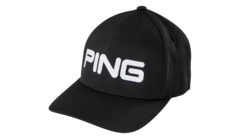 PING Tour Structured Cap - Black/White
